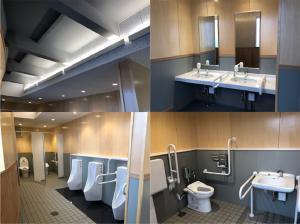 歩崎公園トイレ内装