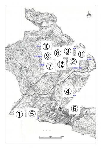候補地位置図