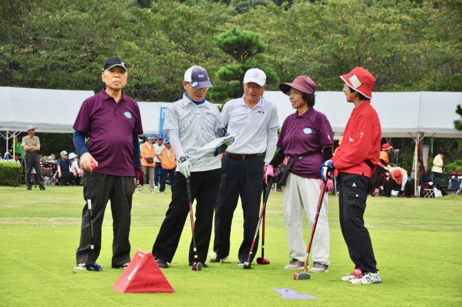 『グラウンド・ゴルフ(6)』の画像