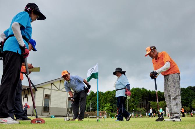 『グラウンド・ゴルフ(10)』の画像