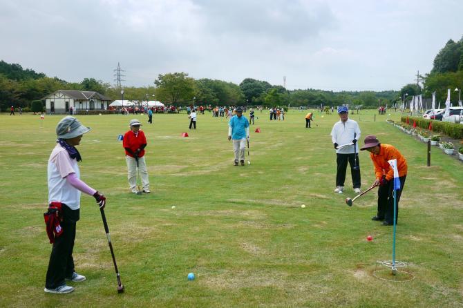 『グラウンド・ゴルフ(11)』の画像