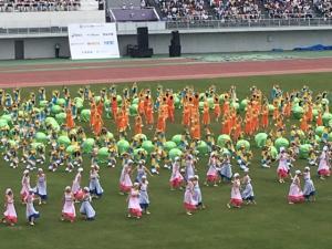 国体開会式2