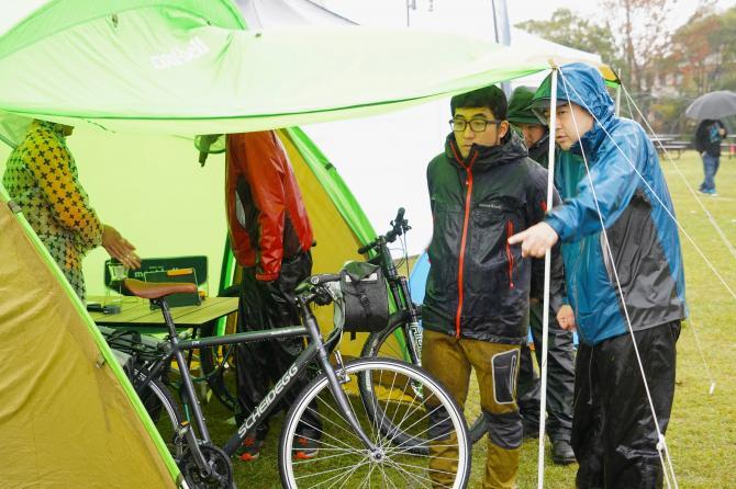『バイク&キャンプ(5)』の画像