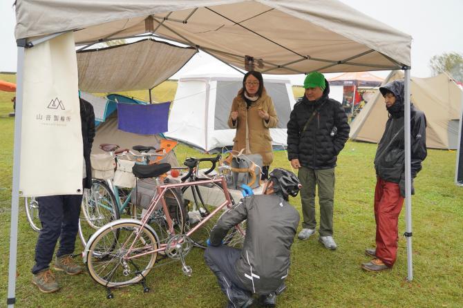 『バイク&キャンプ(16)』の画像