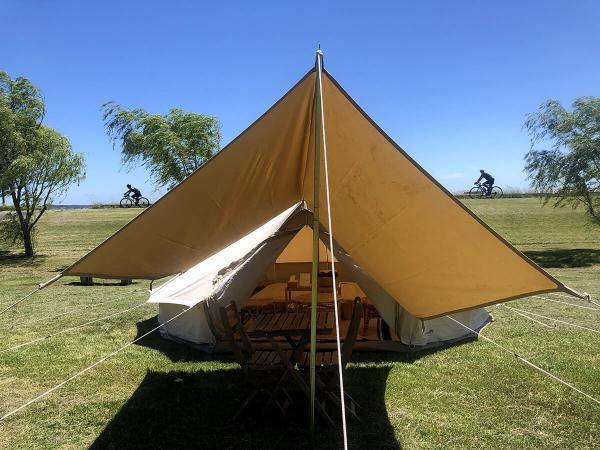 ライドビレッジ テント