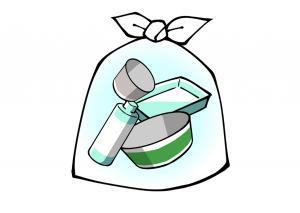 プラスチック製容器包装イラスト