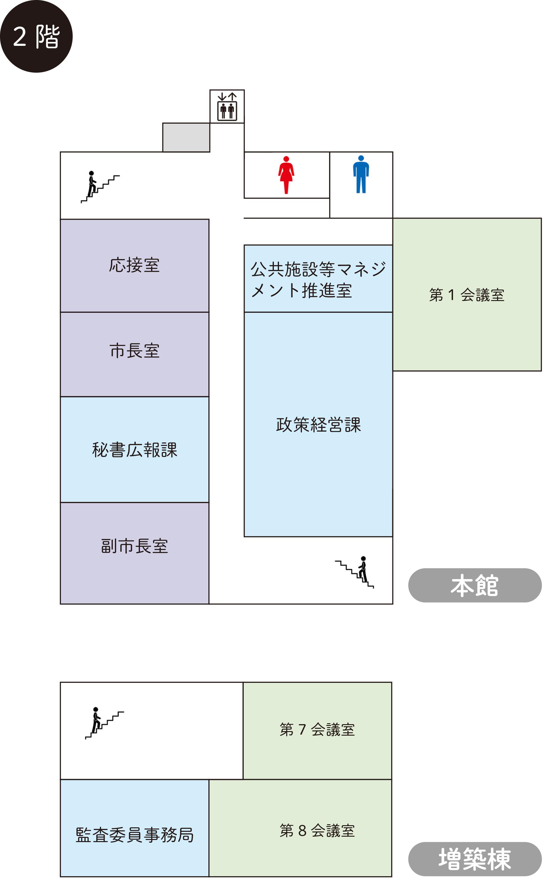 千代田庁舎2階