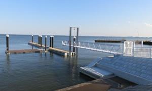 歩崎桟橋の画像